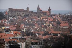 Die Nürnberger Burg, ein beliebtes Fotomotiv