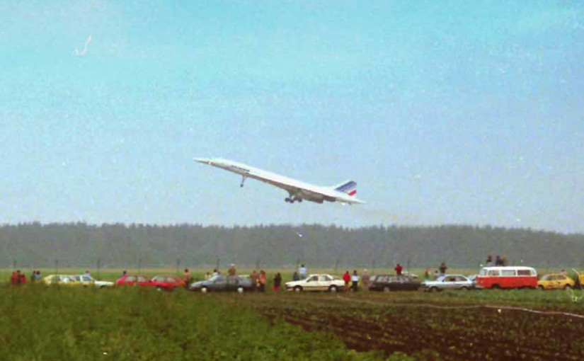 Flughafen Nürnberg wird 60 Jahre – 1986 war die Air France Concorde da