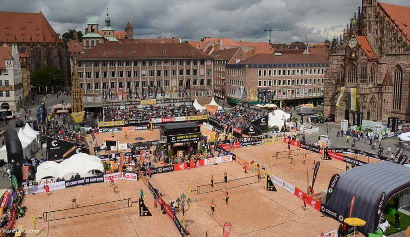 Bildergalerie der smart beach tour in Nürnberg