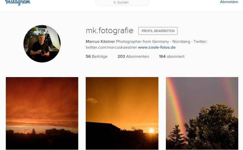 Ausstellung mit Instagram-Fotos aus Nürnberg
