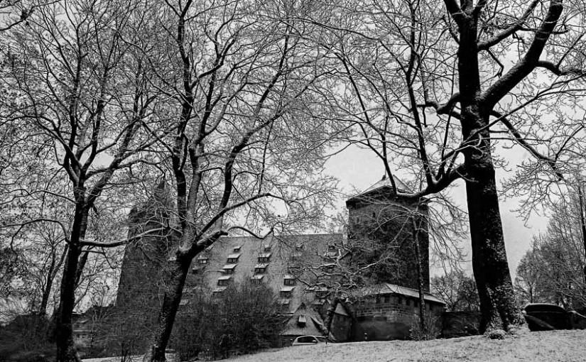 Winterlandschaft in Nürnberg