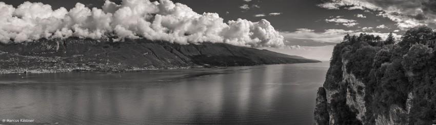Panorama vom Gardasee