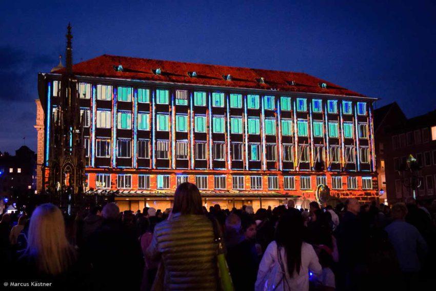 Das Rathaus von Nürnberg