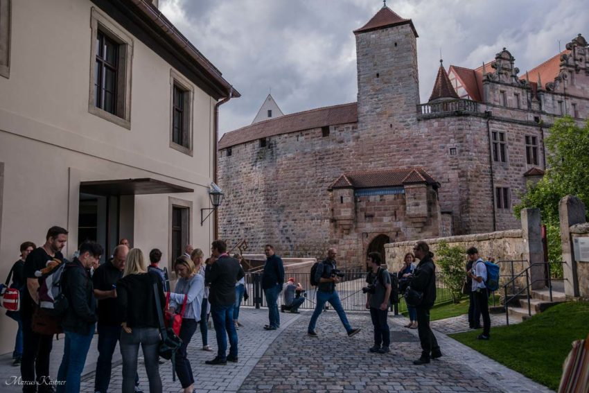 Treffpunkt der Blogger zum HohenzollernWalk