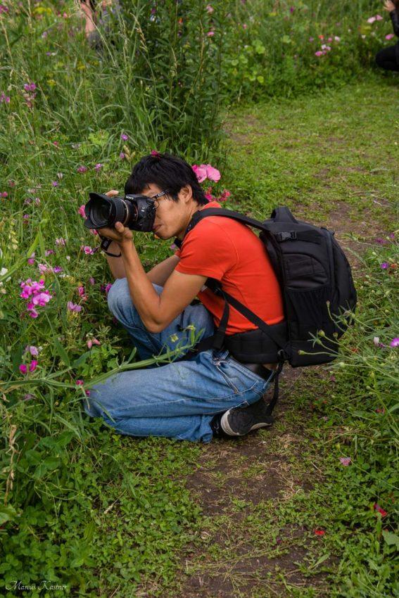 Fotograf beim Instawalk