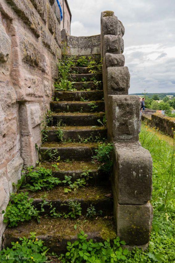 Coole alte Treppen